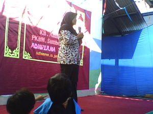 Sambutan Kepala PAUD AMANAH Mahareni Wahyu Utami, SP